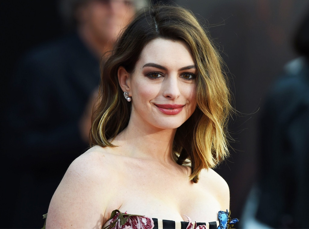 Anne Hathaway talks motherhood, advocates for paid parental leave
