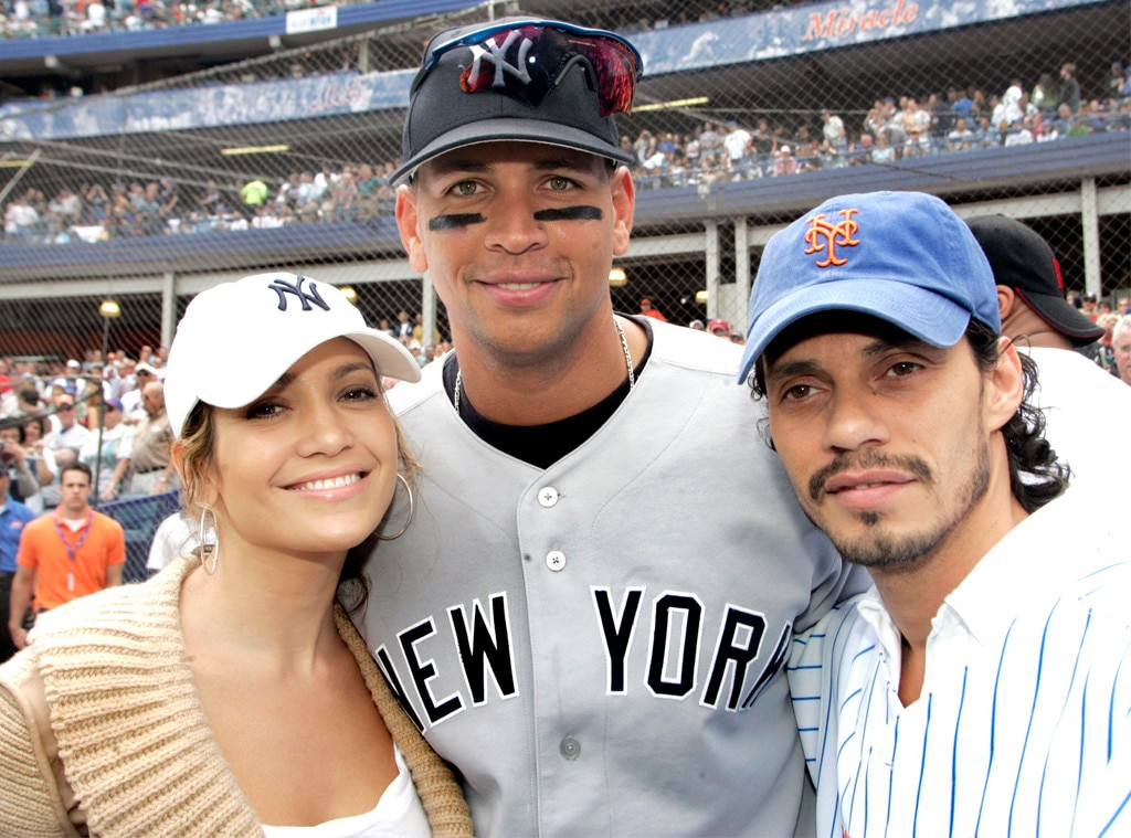 Jennifer Lopez, Alex Rodriguez and Marc Anthony