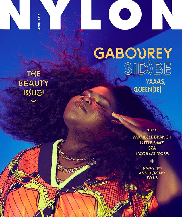 Gabourey Sidibe, Nylon, April 2017