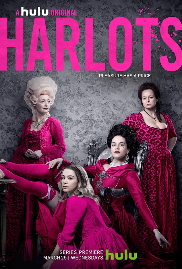 hulu 39 s harlots isn 39 t your typical tv show about prostitutes e news. Black Bedroom Furniture Sets. Home Design Ideas