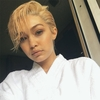 Gigi Hadid, April Fool's Day, Haircut
