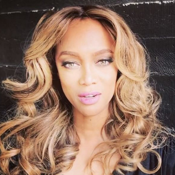 Tyra Banks, America's Next Top Model Promo, Instagram