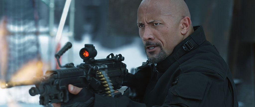 The Fate of the Furious, Dwayne Johnson