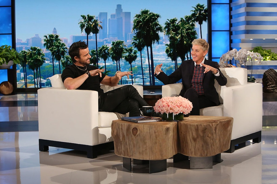 Justin Theroux, The Ellen DeGeneres Show