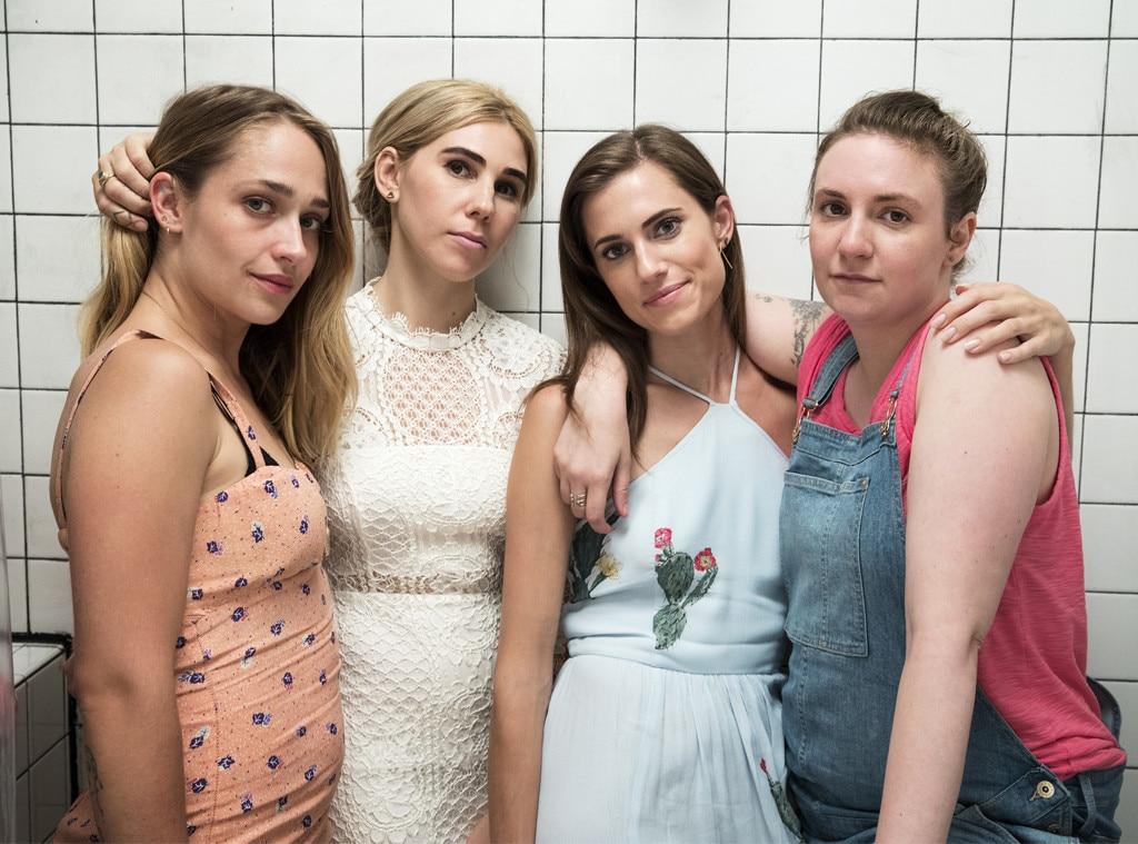 Jemima Kirke, Zosia Mamet, Allison Williams, Lena Dunham, Girls