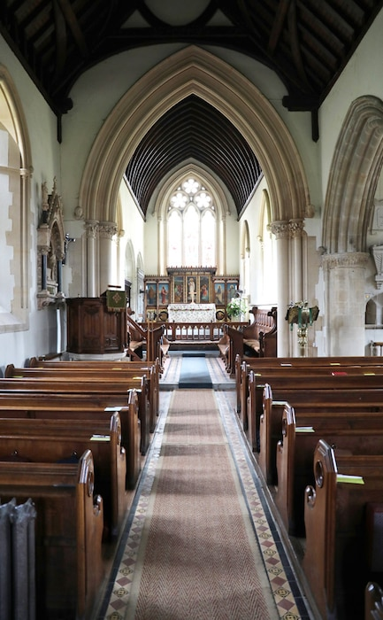 Middleton Family Church, St. Marks Church Englefield