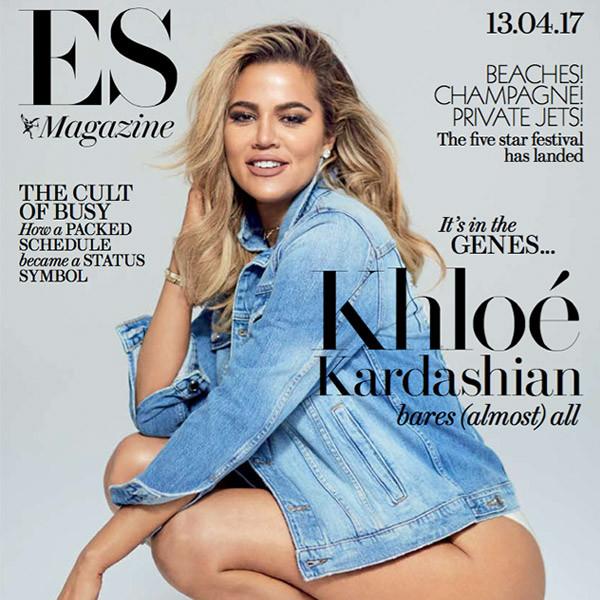 Khloe Kardashian, ES Magazine