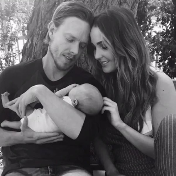 Camilla Luddington, Baby, Birth, Hayden