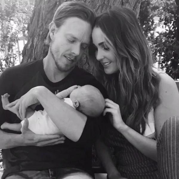 Camilla Luddington, Baby, Birth, Hayden