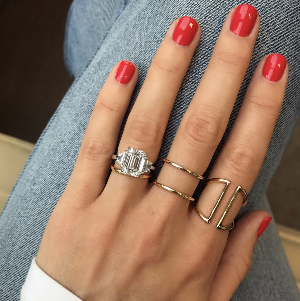 How To Wear Wedding Ring And Engagement Ring
