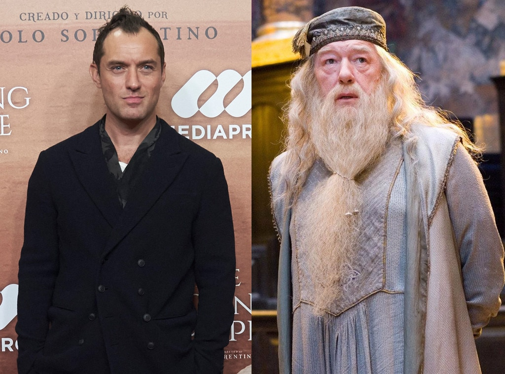 Jude Law Is Young Dumbledore In Fantastic Beasts 2