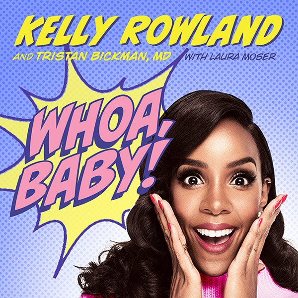 Kelly Rowland, Whoa Baby, Book Cover