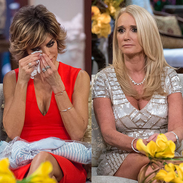 Lisa Rinna, Kim Richards, Real Housewives of Beverly Hills