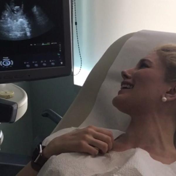 Heidi Monta, Ultrasound, Pregnancy