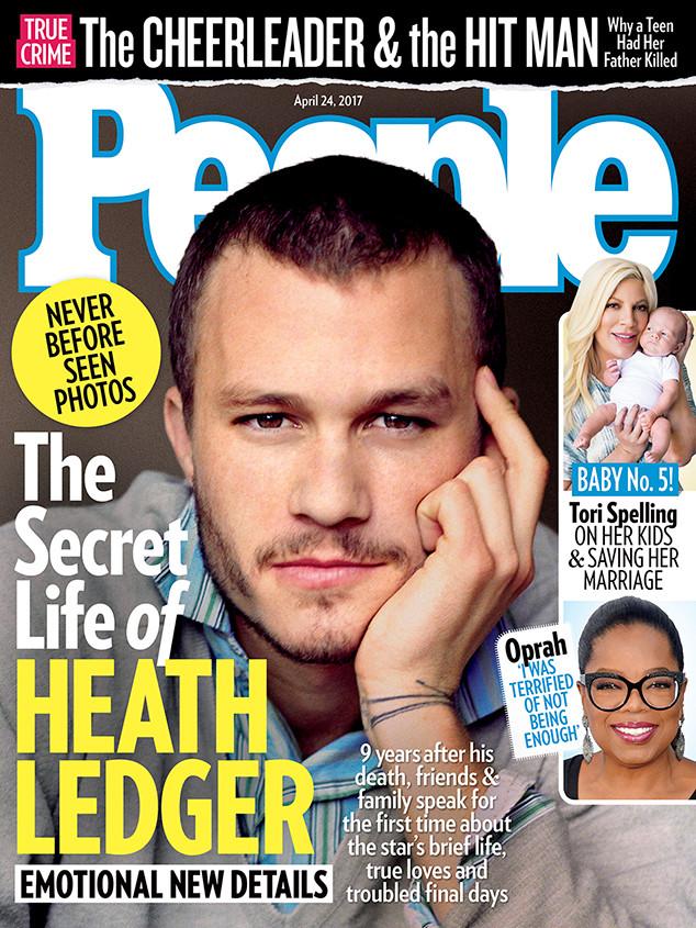 Heath Ledger, People Magazine, April 24, 2017