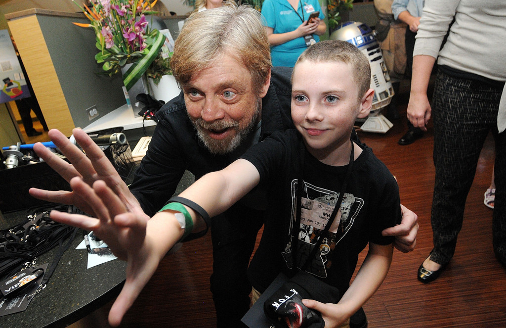 Mark Hamill, Children's Hospital