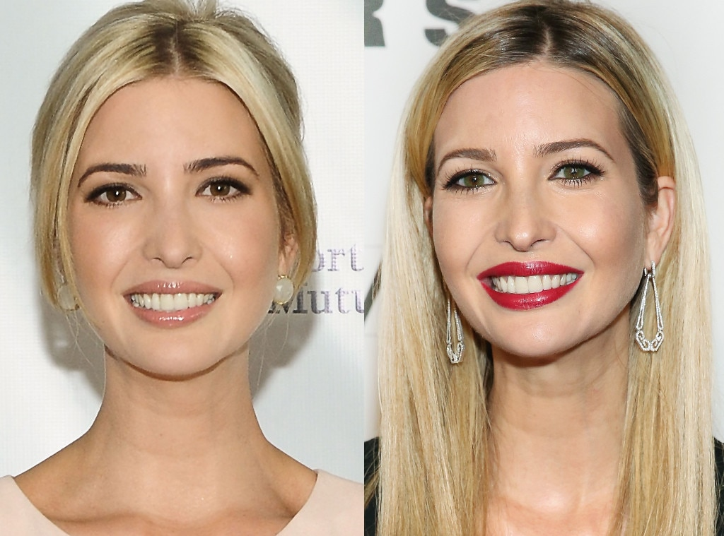 Ivanka Trump, Colored Contacts