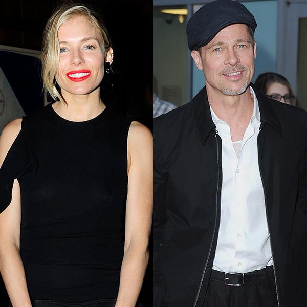 Sienna Miller, Brad Pitt