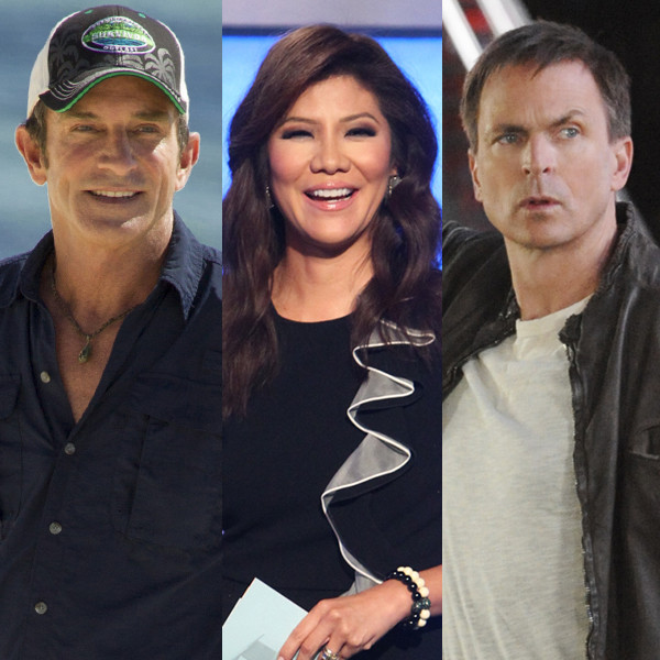 TV Hosts, Jeff Probst, Chris Harrison, Julie Chen, Phil Keoghan
