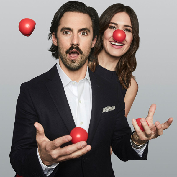 Stars Celebrate Red Nose Day 2017