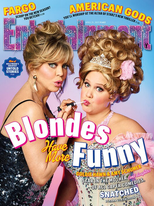 Goldie Hawn, Amy Schumer, Entertainment Weekly