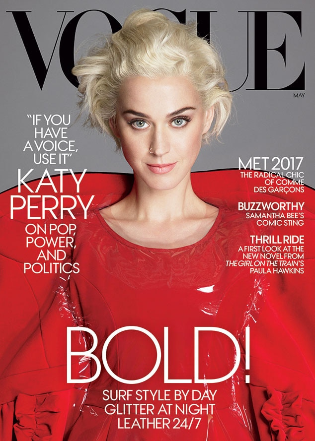Katy Perry, Vogue, May 2017 Issue, Commes des Garcons