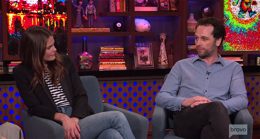 Matthew Rhys, Keri Russell, Watch What Happens Live