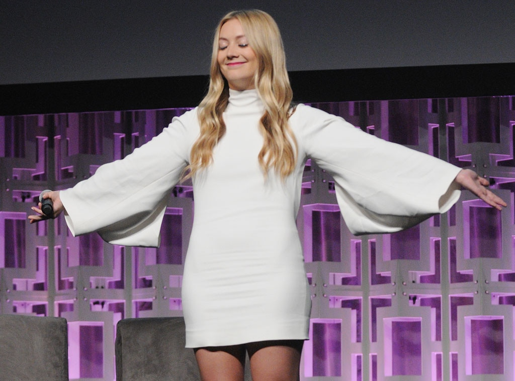 Billie Lourd, Star Wars Celebration