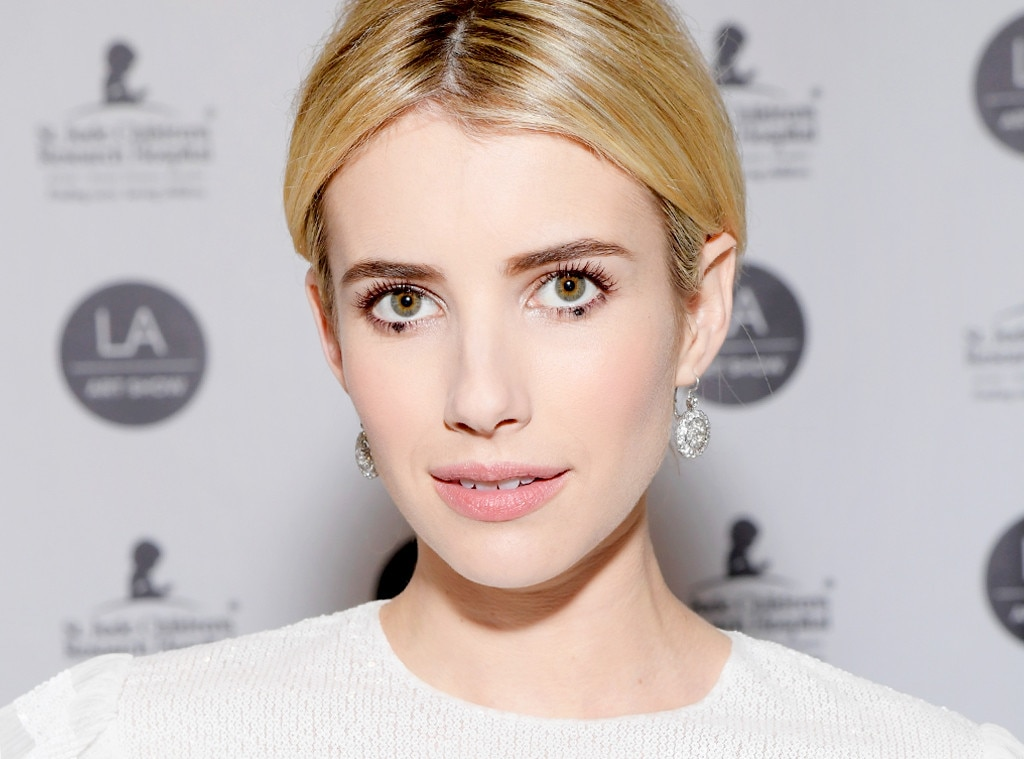 ESC: Dot Eyeliner, Emma Roberts