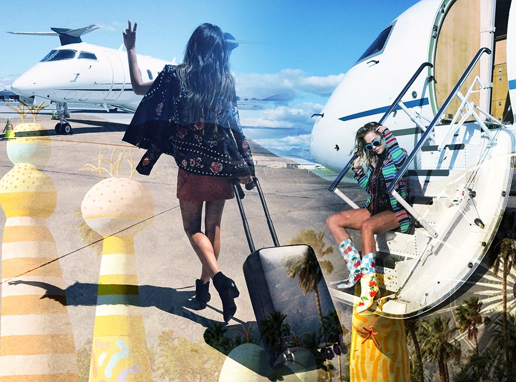 Celebrities Traveling to Coachella