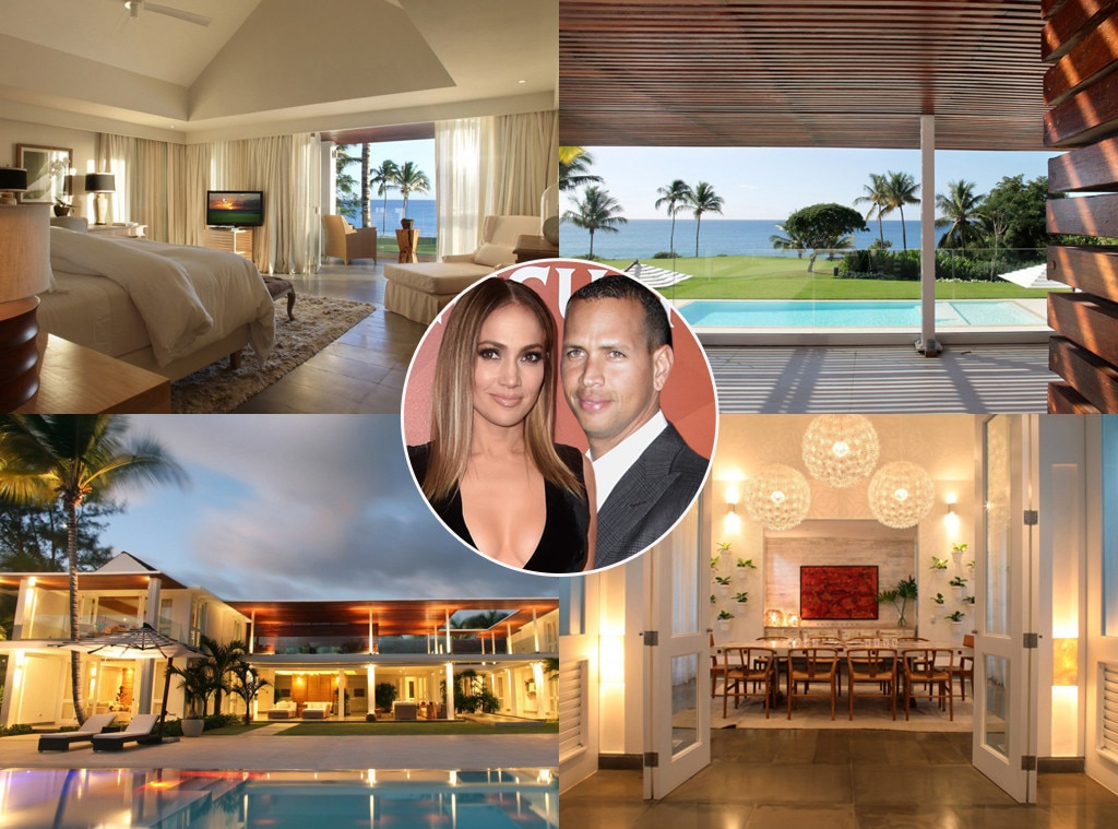 Jennifer Lopez and A-Rod Shack Up in Marc Anthony's Beach Community