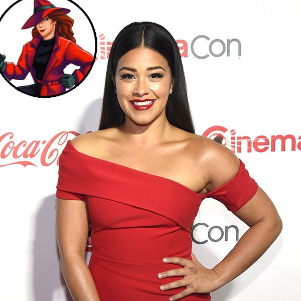 Gina Rodriguez, Carmen Sandiego