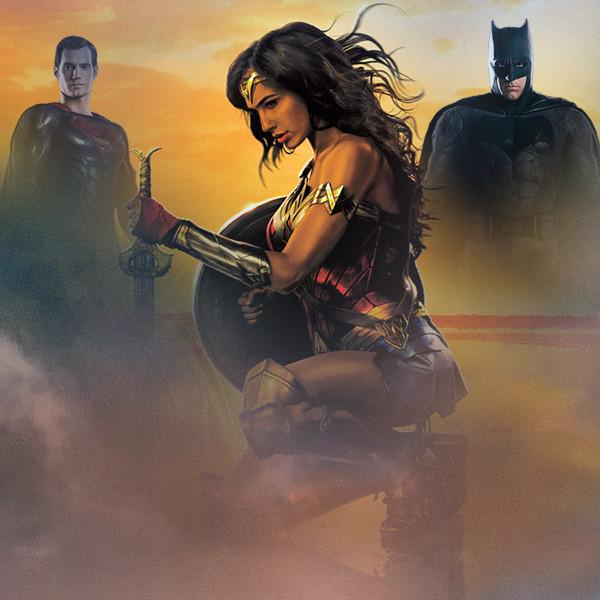 Wonder Woman, Batman, Superman
