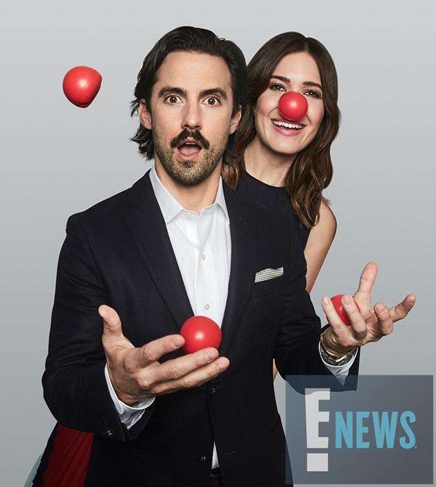 Red Nose Day, Exclusive, Milo Ventimiglia, Mandy Moore