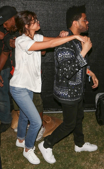 Selena Gomez, The Weeknd, Coachella