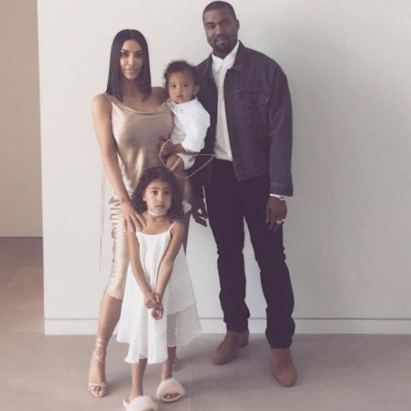 Kim Kardashian, Kanye West, North West, Saint West, Easter