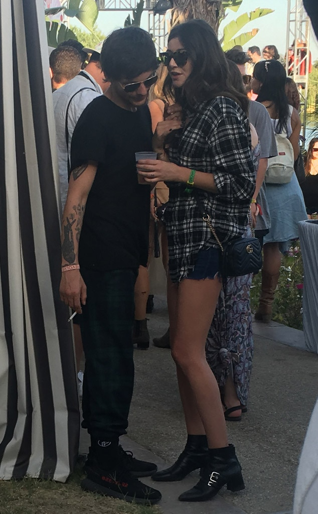Louis Tomlinson, Eleanor Calder, Coachella