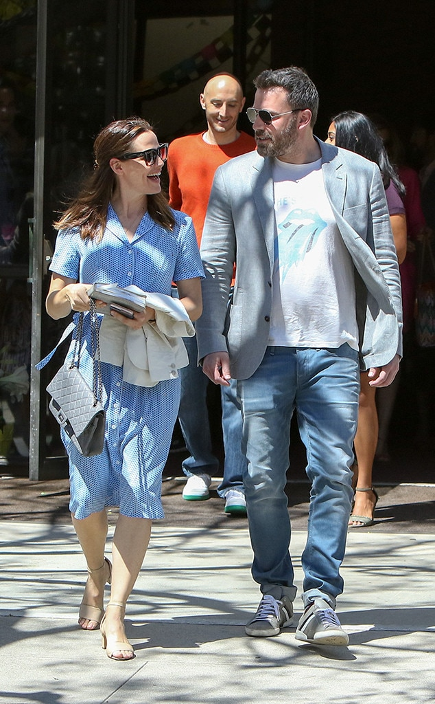 Jennifer Garner, Ben Affleck, Easter