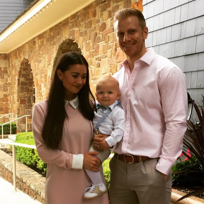 Sean Lowe Catherine Lowe And Samuel Lowe From Stars