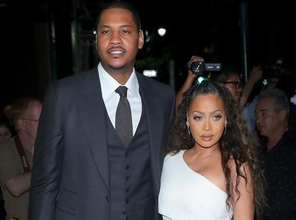 Here's How Carmelo Reacted to La La at the BET Awards
