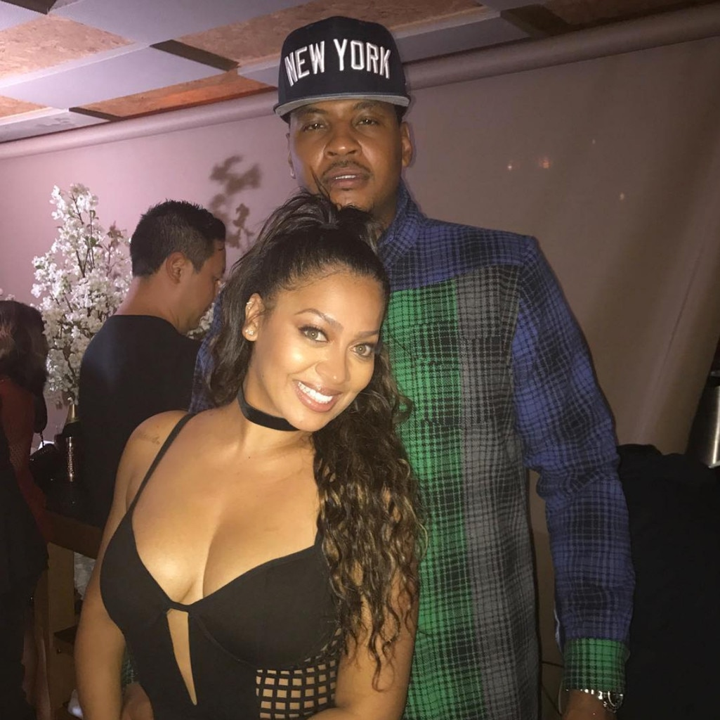Cool Kids from La La Anthony and Carmelo Anthony: Romance ...
