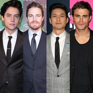 Alpha Male, Cole Sprouse, Stephen Amell, Harry Shum Jr, Paul Wesley