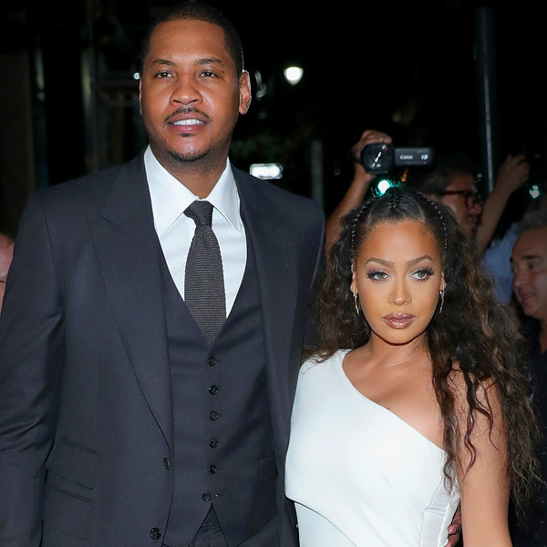 Carmelo Anthony Cheated On LaLa And Got The Other Girl ...