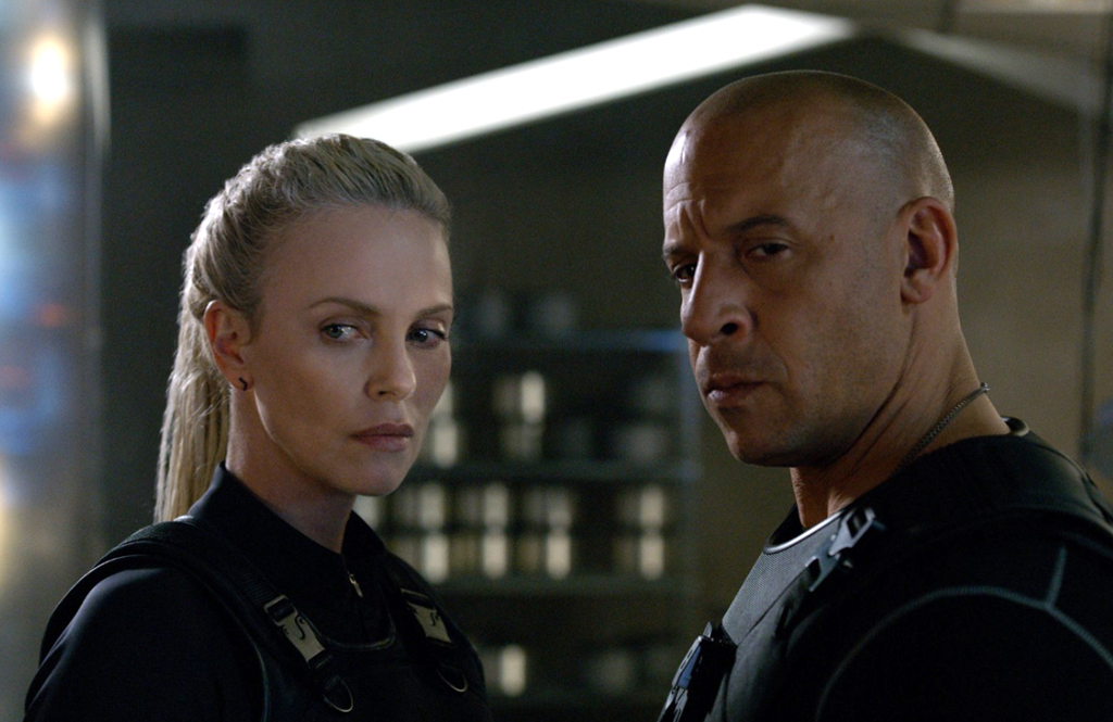 The Fate of the Furious, Vin Diesel, Charlize Theron