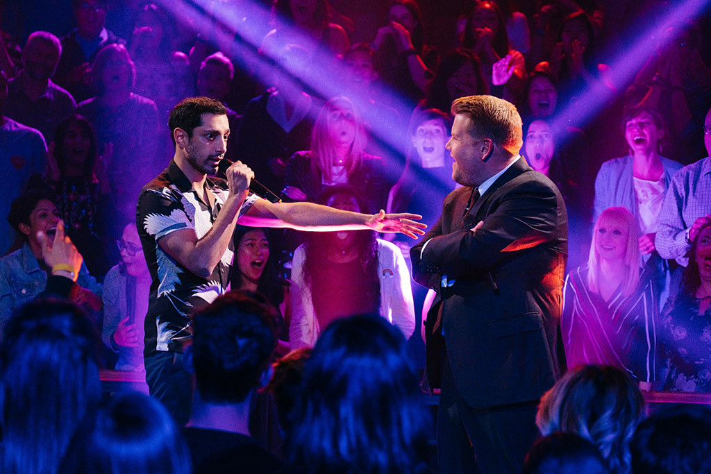 Riz Ahmed, James Corden, The Late Late Show