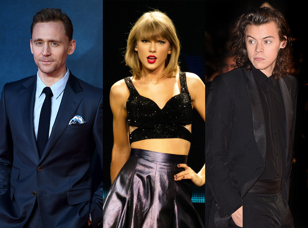 Tom Hiddlesotn, Taylor Swift, Harry Styles