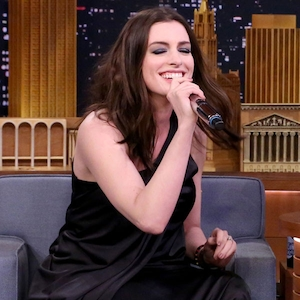 Anne Hathaway, The Tonight Show Starring Jimmy Fallon