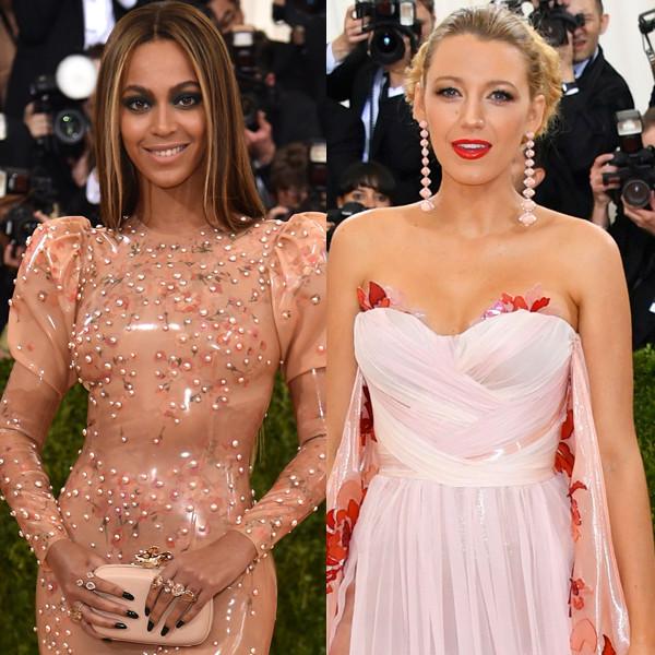 Beyonce, Katy Perry, Selena Gomez, Gigi Hadid, Blake Lively, MET Gala 2016, Arrivals