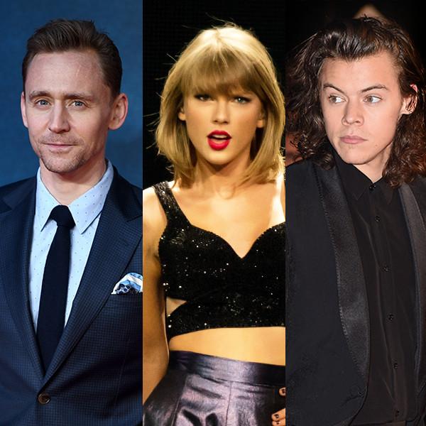 Tom Hiddlesotn, Taylor Swift, Harry Styles