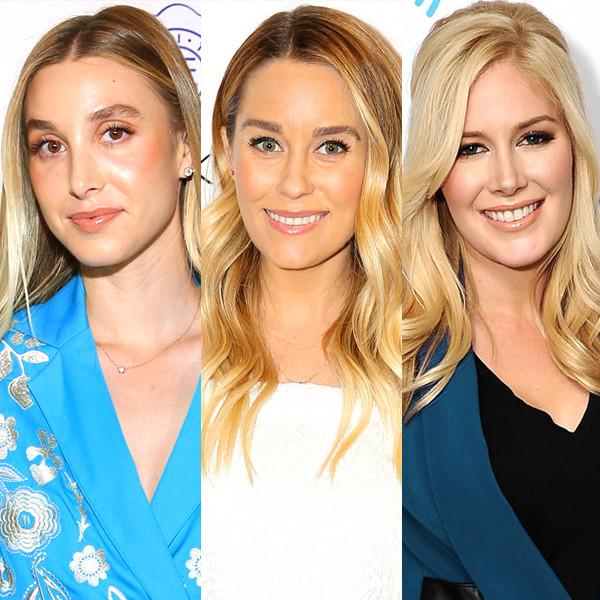 Whitney Port, Lauren Conrad, Heidi Montag